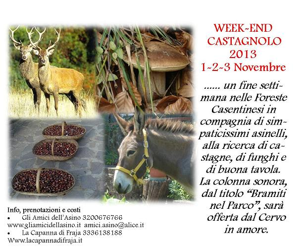week end castagnolo 2013