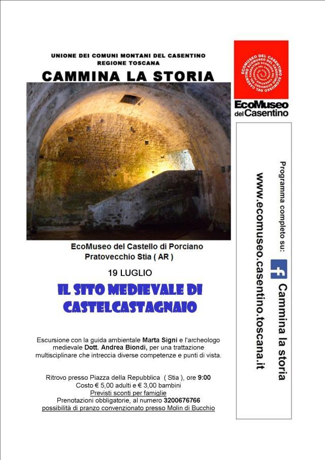 cammina la storia 19 Luglio Castelcastagnaio